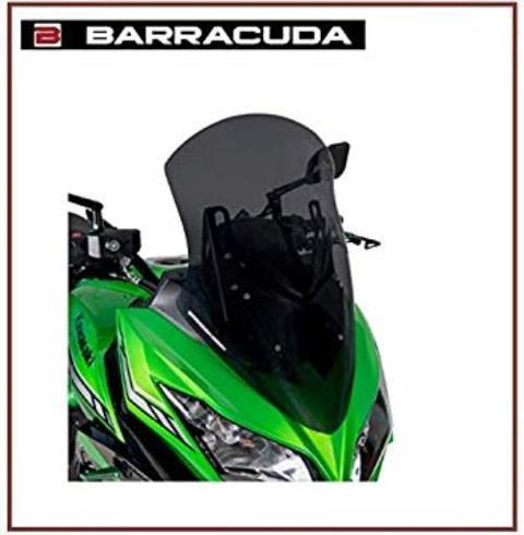 Cupolino  Kawasaki Versis 650 2017/19 BARRACUDA  Aerotourer plexiglass semitrasparente colore fume' scuro