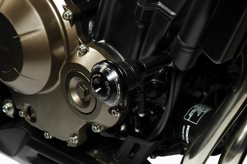 Tamponi Paramotore Honda CB500F DE PRETTO MOTO  WARRIOR Nylon Alluminio