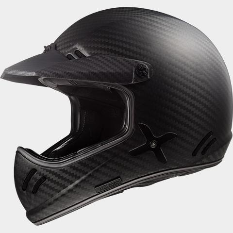 Casco Integrale Carbonio 980g +/- 50 LS2 Xstra Single Mono
