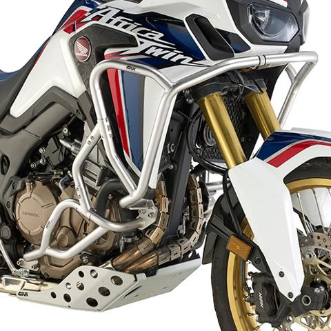 Paramotore tubolare specifico,disponibile in  ferro o in acciaio Inox  GIVI Honda  CRF1000L AFRICA TWIN (18 > 19)
