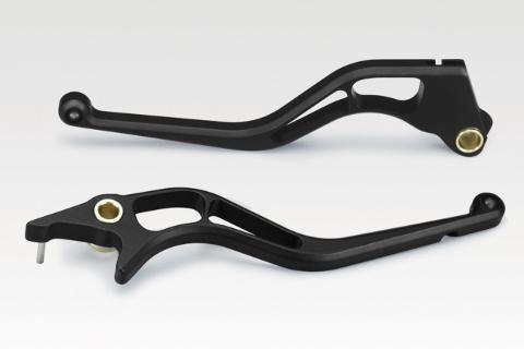 KIT Leve Honda NC750S 2014-19 NC750X 2014-19 De Pretto Moto Race Alluminio Ricavato Dal Pieno Anodizzato Nero
