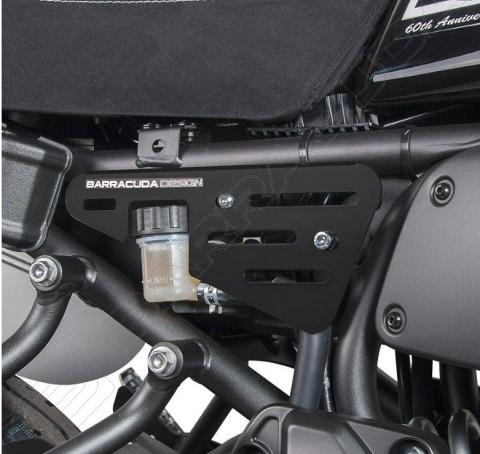 Kit Fianchetti Laterali Yamaha XSR 700 Barracuda Alluminio Anodizzato Nero
