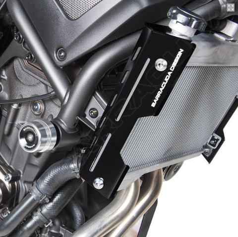 Convogliatori Aria Yamaha XSR 700 Barracuda Alluminio Anodizzato Nero Satinato
