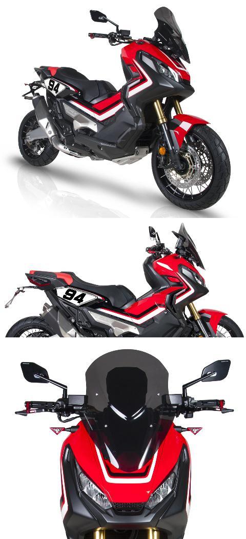cupolino parabrezza moto  BARRACUDA  HONDA XADV 2017/2020