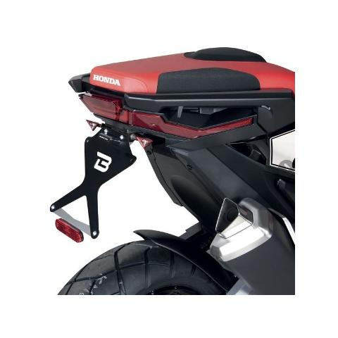 PORTATARGA  KIT TARGA REGOLABILE  PER MOTO  BARRACUDA  HONDA XADV 2017/2020