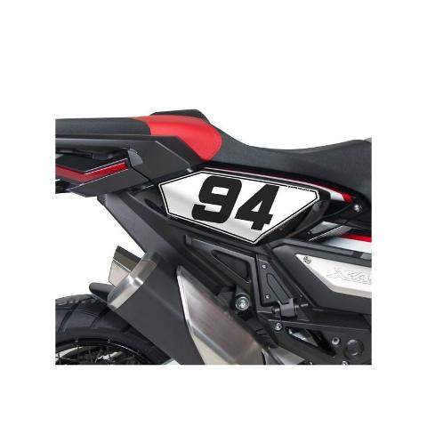 PORTANUMERO KIT NUMERO  BARRACUDA  HONDA XADV 2017/2020