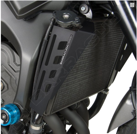 Convogliatori Aria Yamaha XSR 900 2015/19 Barracuda Alluminio Anodizzato Nero Satinato