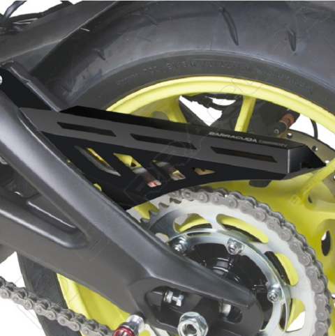 copricatena in alluminio  per moto  BARRACUDA  Yamaha MT09  2017-2020