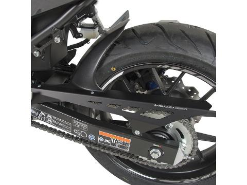 Parafango posteriore in alumio   copriruota  BARRACUDA  Honda cb 500X 2019-2020