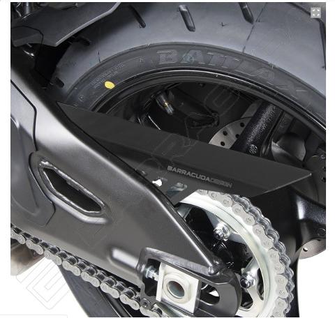 Copricatena Yamaha MT 10 Barracuda Alluminio Anodizzato Nero