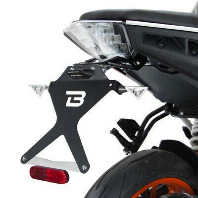 Portatarga Kit Targa  Regolabile   BARRACUDA  KTM 125 Duke (2017 - 2019)KTM 390 Duke (2017 - 2018)