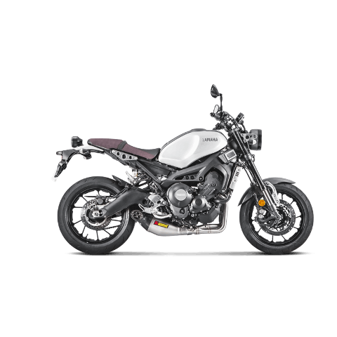 Scarico Completo Yamaha XSR 900 Possibile Omologazione Akrapovic Collettori in inox silenziatore in titanio fondello in carbonio