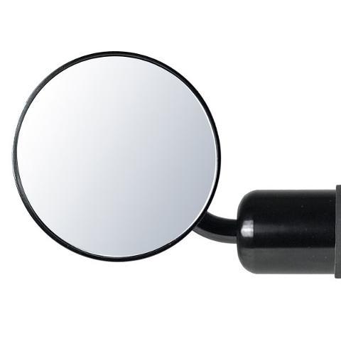 Specchio da Manubrio Universale  Chaft Alluminio Reversibile Colore Nero Non Omologato