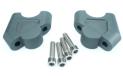 """Alza Manubrio reclinati Alluminio Grigio diametro 28 - 28 Racepro  RISERS KIT R1200GS LC 13-16 R1200GS ADV 14-16"""""""