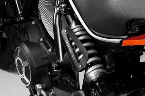 Cover Sospensione Posteriore De Pretto Moto Alluminio Taglio Laser Verniciato a Polvere
