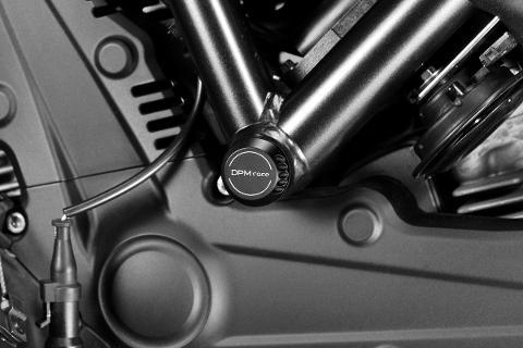 Covers Fori Telaio Ducati Scrambler 800 De Pretto Moto Alluminio Anodizzato Ricavato Dal Pieno Nero