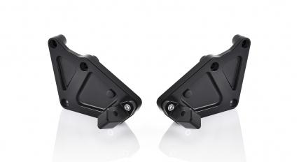 Supporto per montaggio Pedivella Pilota Rizoma alluminio