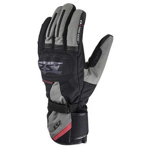 Guanti moto con protezioni Waterproof LS2 Snow Man Touring Gloves