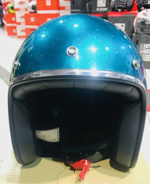 Casco jet modello   vintage / retro  storm  casco vintage retro