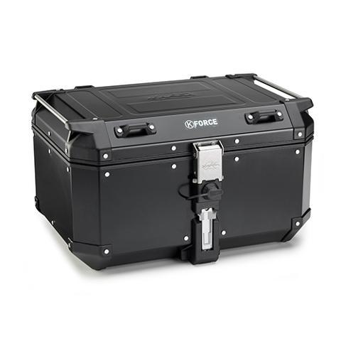 Bauletto valige  per moto in alluminio  KAPPA KFR580B  KFR580A K' FORCE