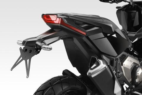 Kit Targa XADV 2021 De Pretto moto  Modello Italiana