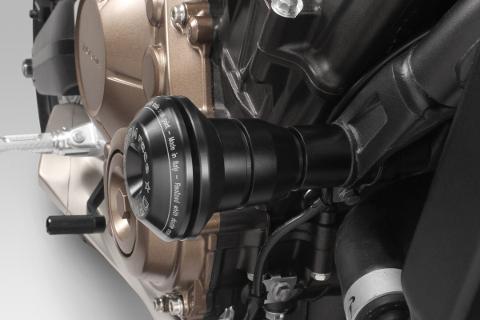 tamponi paramotori in alluminio   DPM RACE   HONDA CB 650R 2021