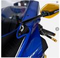 Adattatori Specchi Yamaha R6 2017-2019 Barracuda Specifici per Retrovisori SKIN-XR E SKIN-XR INDICATOR.