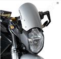 Cupolino Parabrezza Classic Zero DS Barracuda AEROSPORT è realizzato in Alluminio Nero o Argento