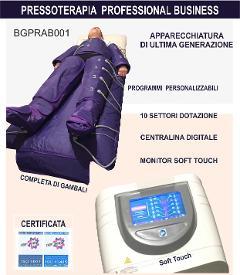 PRESSOTERAPIA  ECONOMICA  BGPRAB001 in OMAGGIO Trasporto,imballo,consegna OMAGGIO Corso Formazion BUSINESS GROUP BGPRAB001