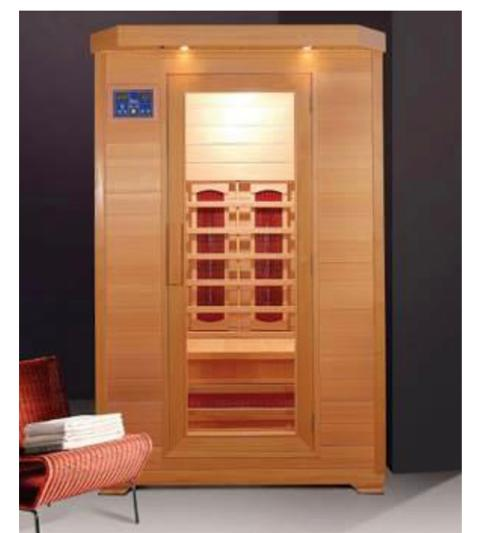 SAUNA INFRAROSSO 2 posti  Sauna Infrarosso  PR 200L