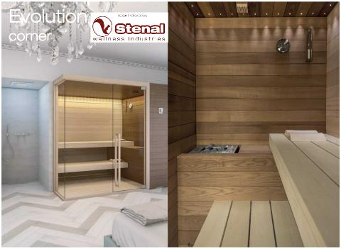 SAUNA STENAL EVOLUTION  - Catania