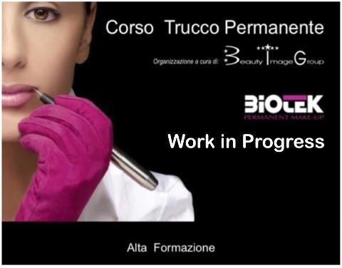 BIOTEK Corso Trucco Permanente Aprile  2019 Catania Laura Lanza Academy,8 giorni di alta formazione