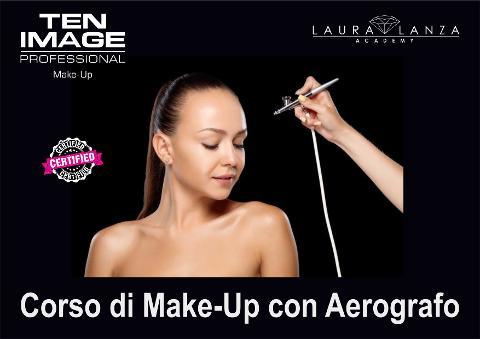 Corso Airbrush Make-up ( Make-up con l'ausilio dell'Aerografo ) Catania 18 e 19 Ottobre 2021