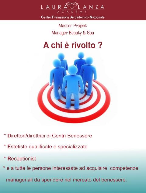 SPA MANAGER  MASTER PROJECT MANAGER & BEAUTY SPA  - 19 E 20 MARZO 2020