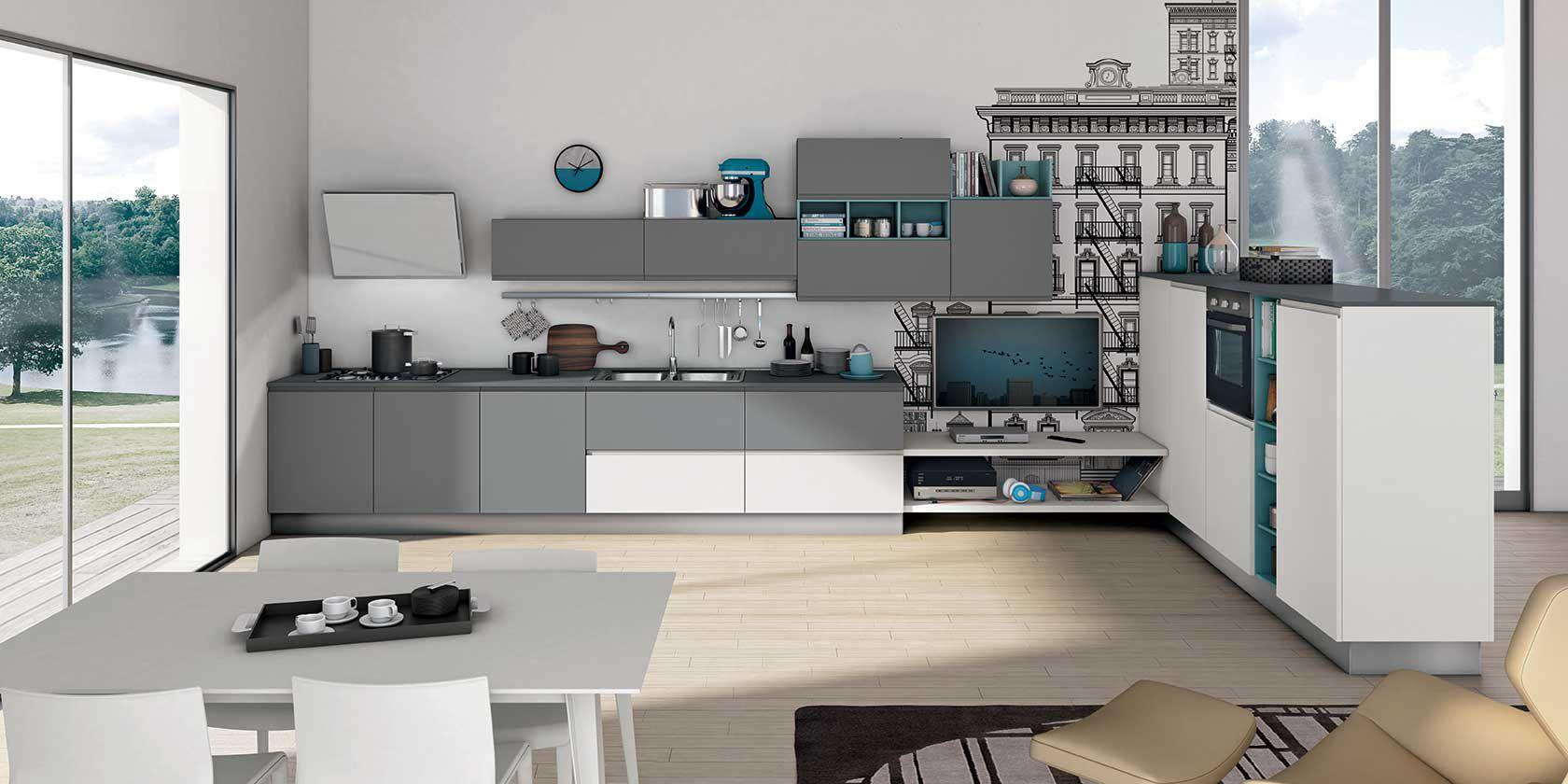 CUCINE CREO KITCHENS by LUBE CUCINE A CATANIA - CUCINE ...