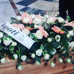Fiori per funerale a Caltagirone