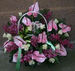Addobbi floreali funebri a Caltagirone
