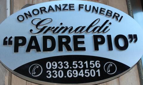 Pompe funebri a Caltagirone