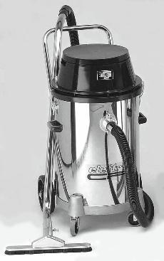 Aspiratore Industriale per polvere e liquidi 90litri Elettrocf