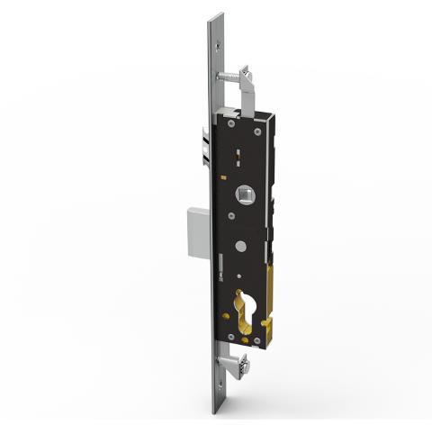 OMEC 1610S - Serrature di sicurezza ad ingranaggi per montanti OMEC 1610S