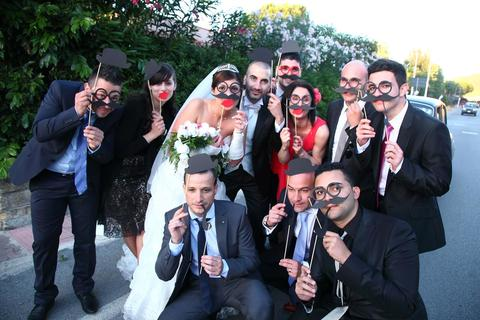 photo booth di gruppo