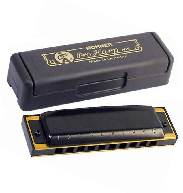HOHNER PRO HARP IN DO