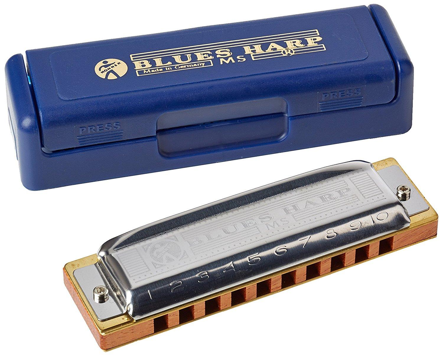 HOHNER BLUES HARP IN SI