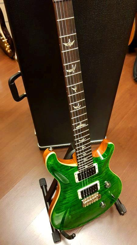 PRS PAUL REED SMITH CUSTOM 24 GEN III EMERALD GREEN TR5 85/15 2018