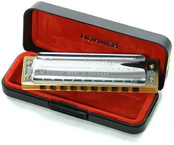 HOHNER MARINE BAND DELUXE IN MI