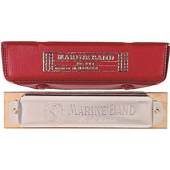 HOHNER MARINE BAND 364/24 IN SOL