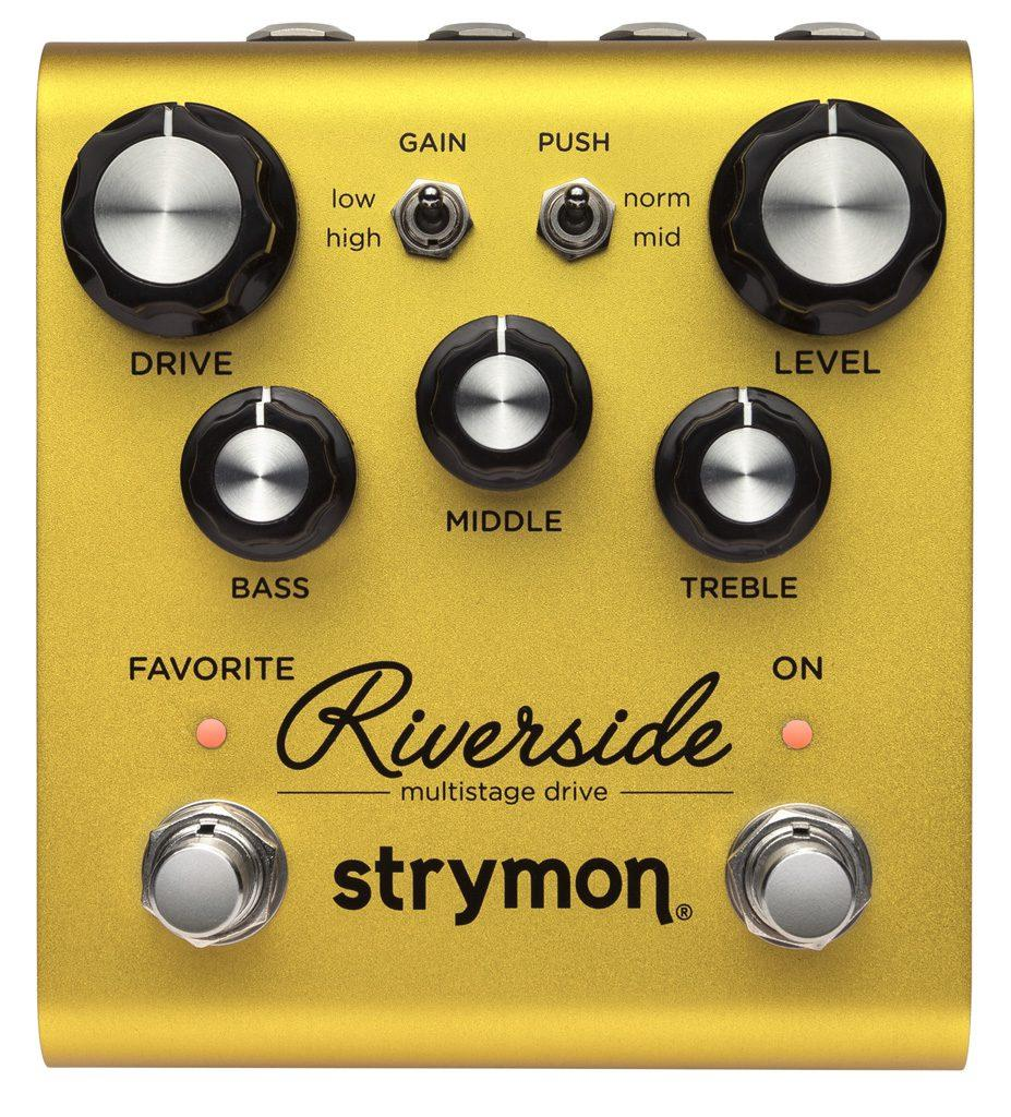 STRYMON RIVERSIDE OVERDRIVE DISTORTION SPEDIZIONE INCLUSA