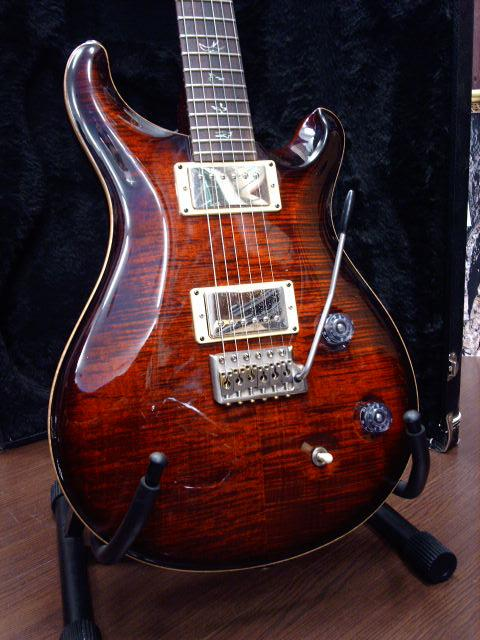 PRS PAUL REED SMITH CUSTOM 22 FIRE RED BURST