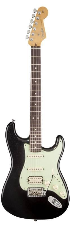 FENDER AMERICAN DELUXE PLUS HSS STRATOCASTER RW MYSTIC BLACK