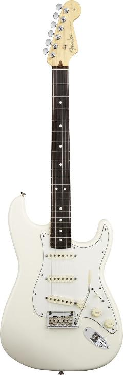 FENDER AMERICAN PROFESSIONAL STRATOCASTER OLYMPIC WHITE RW